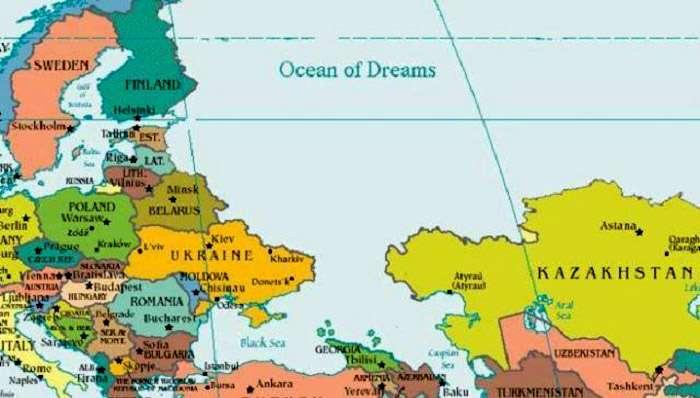 Посольство России в Танзании опубликовало правильную карту РФ, которая напоминает, что Крым - это Украина, - постоянное представительство при ООН - Цензор.НЕТ 164